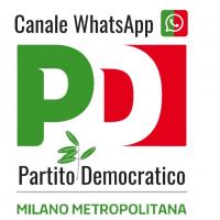 Canale WhatsApp partito democratico Milano